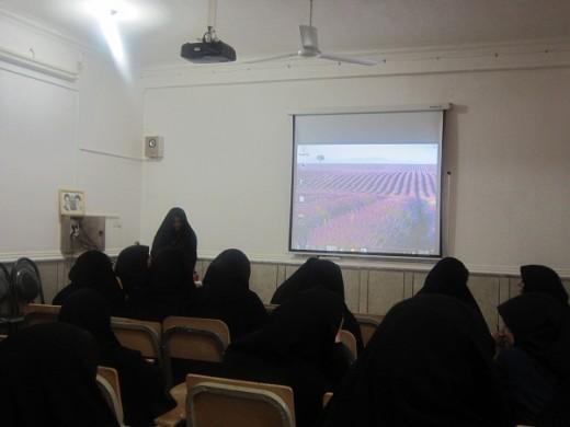برگزاری نشست اخلاقی در مدرسه علمیه خواهران الزهرا(س) گراش.