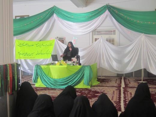 برگزاری نشست اخلاقی با موضوع بررسی زندگی چهار حشره با استناد به قرآن در مدرسه علمیه خواهران الزهرا س گراش