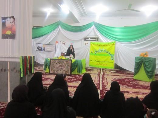 . جلسه آموزشی دانش آموختگان: چشمه سار توفیق 9 در مدرسه علمیه خواهران الزهرا س گراش برگزار شد