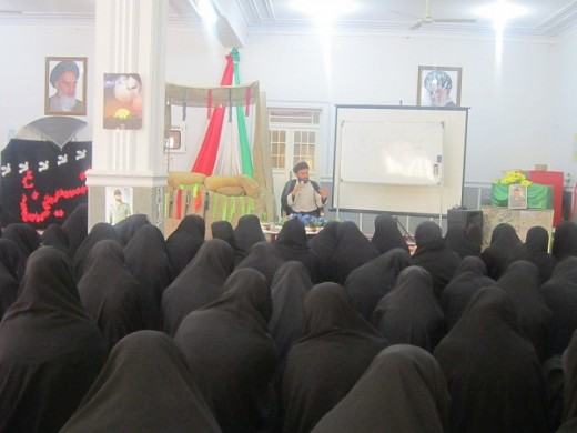 برگزاری نشست اخلاقی در مدرسه علمیه خواهران الزهرا س گراش