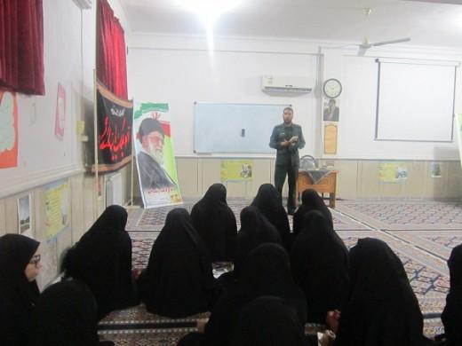 دوره حفاظت اطلاعات در مدرسه علمیه خواهران الزهرا(س) گراش
