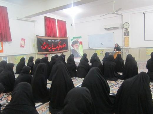 نشست اخلاقی با موضوع صراط در مدرسه علمیه خواهران الزهرا(س) گراش