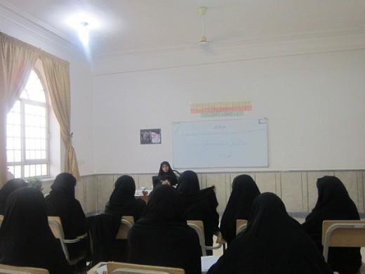 دوره آموزشی احکام نماز ویژه مبلغین در مدرسه علمیه خواهران الزهرا(س) گراش
